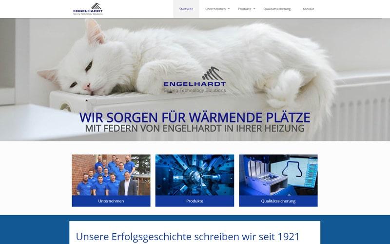 engelhardt-federnfabrik.de Screenshot