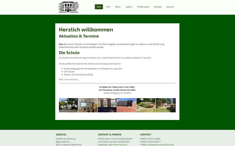 goethe-grundschule.de Screenshot